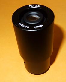 Nikon PLI 2.5X Microscope Photo Relay Lens