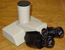 Nikon Biophot Microscope Super-wide Trinocular Body with 10X CFUW Eyepieces