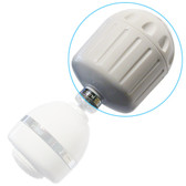 Sprite HO2-WH High Output Shower Filter w/o Massage Head (White)