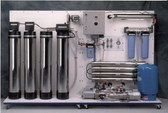 ROS/FS-1WS Reverse Osmosis Filtration Station 1,500-1,800GPD