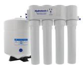 Aqua Flo-Hydrotech Platinum 1240 Series 4 Stage RO Systems w/Push Button Monitor 50GPD (4VTFC50G-PB)