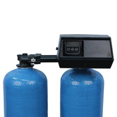 Twin Alternating Water Softener with Fleck 9100 Control Valve 90,000 grains (TO REDUCE FREIGHT COST CALL 1 888 556 8715)