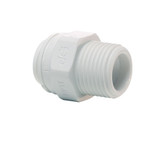 "John Guest PP Series Male Connector 1/4"" x 1/8"" (Tube x Thread) PP010821W"