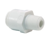 "John Guest CI Series Male Connector 1/4"" x 1/8"" (Tube x Thread) CI010821W"