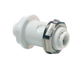 "John Guest CI Series Bulkhead Union Connector 1/4"" (CI1208W)"