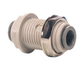 "John Guest PI Series Bulkhead Union Connector 5/32"" (PM1204S)"