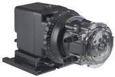 "Stenner Adjustable Single Head Pump 0.2- 3 GPD 100 PSI  Tube # 1 S & D Tubing 1/4"" White (45MJH1B1S)"