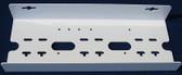 Three Filter Housing U Style Metal Bracket White (FM60W)