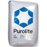 Purolite C-100X10 10% Xlink Cation Resin (1 Cu Ft)