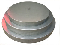 Galvanized Metal Deer Feeder Barrel Lid
