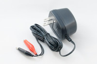 6-Volt Sealed Lead Acid (SLA) Battery Charger With Alligator Clips