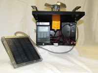 12 Volt Black Box Feeder Control Unit with Cabled Solar and Eliminator - 133LDTSE-C