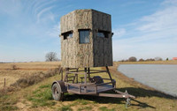 6 x 6 Elevated Trailer Blind