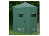 4 x 4 Dillon Fiberglass Blind with 10' Tower