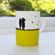 Birdwatching Bone China Mug