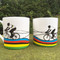 Rainbow Jersey Bone China Mug full image