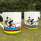 Rainbow Jersey Mug three cyclists