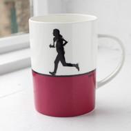 Runner China Mug