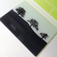 Grey Glass Worktop Saver - Second