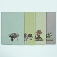 Flowers Recycled Notebook Set