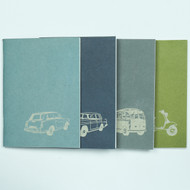 Transport Recycled Notebook Set