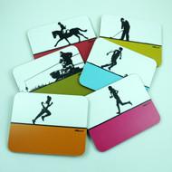 Sports Coasters Set 4