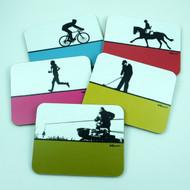Sports Coasters Set 5