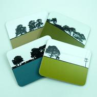 Landscape Coaster Set 8