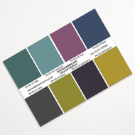 Print Colour Swatch - for Northumberland Rural Prints
