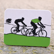 Green Jersey Cycling Coaster