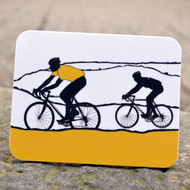 Yellow Jersey Cycling Coaster
