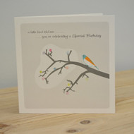 Little Bird Special Birthday Card