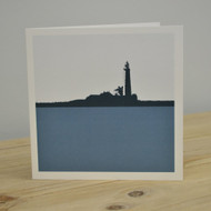 St Mary's Lighthouse - Whitley Bay Greeting Card