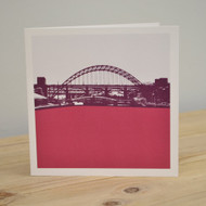 Tyne Bridge - Newcastle Greeting Card LAS-NE-02-GC