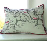 Birdsong Cushion - Pink