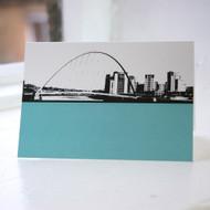 Millennium Bridge - Gateshead Greeting Card