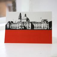 Cardiff City Hall Greeting Card