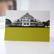 Palm House - Liverpool Greeting Card