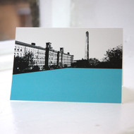 Salts Mill - Saltaire Greeting Card