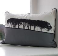 Guiseley Landscape Cushion - Grey