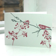 Garden Bird Greeting Card LP-FF-05-GC