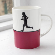 Running Bone China Mug