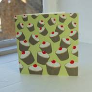 Peppermint Cupcakes Greeting Card