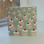 Sage Cupcakes Greeting Card
