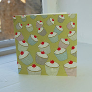 Lime Cupcakes Greeting Card