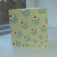 Lemon Cupcakes Greeting Card