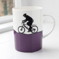 Mountain Biking Bone China Mug