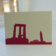 National & Nelsons Monument Postcard