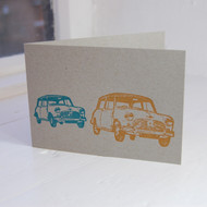 Mini Letterpress Greeting Card