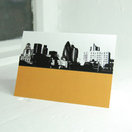 City of London & The Gherkin Greeting Card